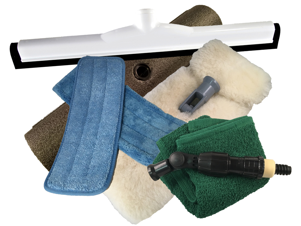 Rv Cleaning Tools : Deluxe quot pure lambswool rv wash and dry kit cleaning kits
