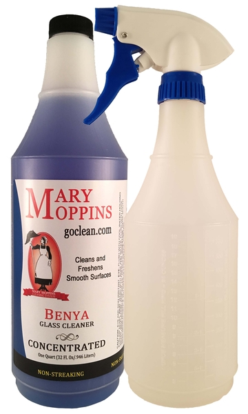 Benya Concentrated Glass Cleaner | Auto Cleaning