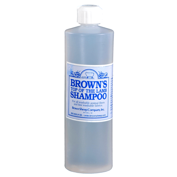 Brown's Top of the Lamb Shampoo 16oz | Cleaners